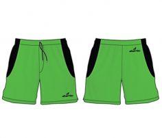 Wholesale Striking Green Hockey Shorts