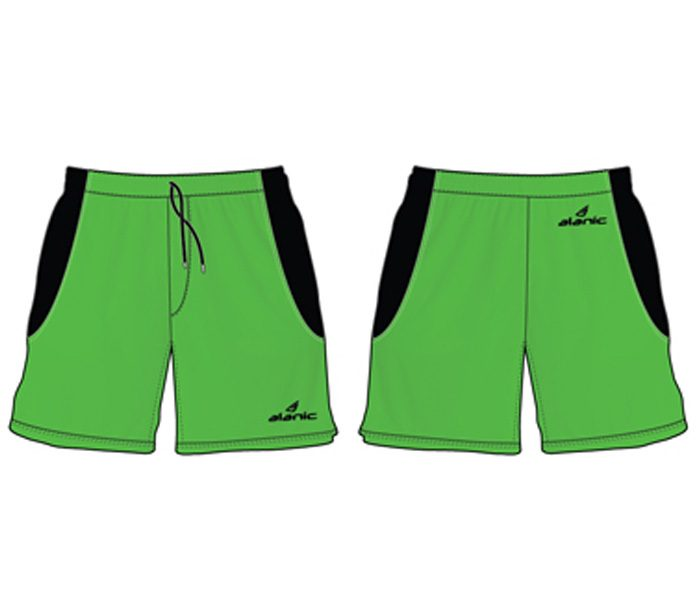 Wholesale Striking Green Hockey Shorts