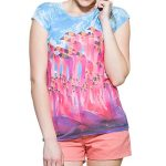 Lovely Swan Sublimation Tee