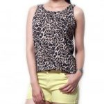 Animal Print Sleeveless Top in UK and Australia