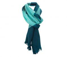 Aquamarine Blue Designer Scarf in UK and Australia