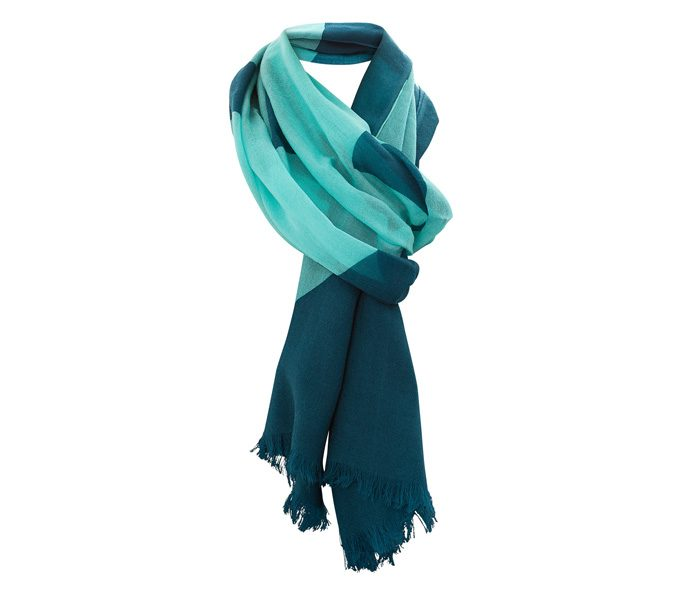 Aquamarine Blue Designer Scarf in UK and Australia