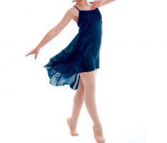 Asymmetrical Dance Wrap Dress in UK and Australia