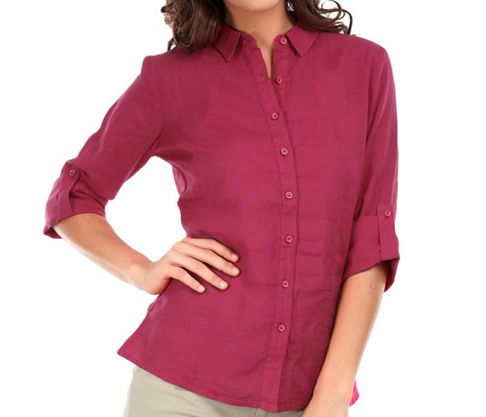 Berry Red Roll Up Shirt UK and Australia
