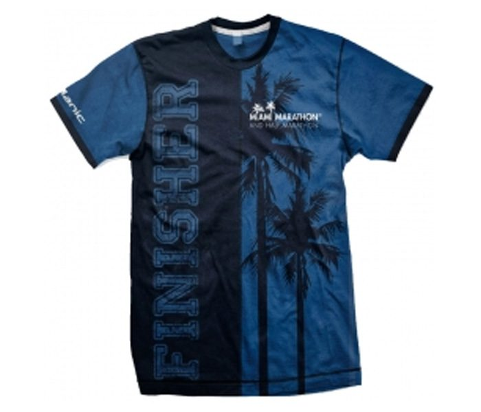 Black and Blue Marathon Tee in UK and Australia