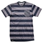 Black and Grey Stripe Tee in UK and Australia
