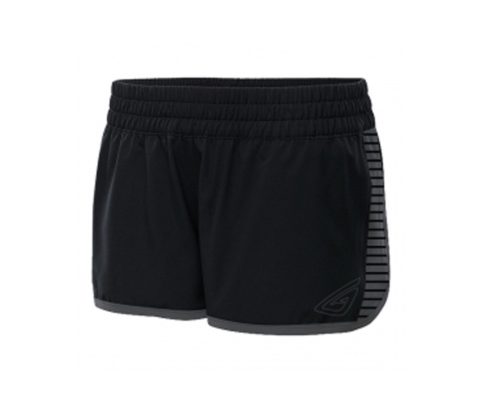 Black and Grey Workout Shorts