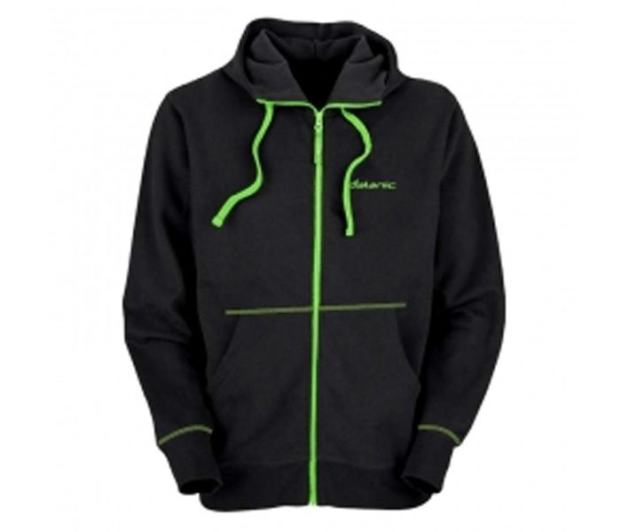 Black and Neon Trimmings Designer Hoodie in UK and Australia