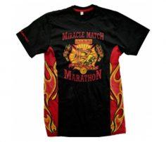Black and Red Printed Marathon T-Shirt in UK and Australia