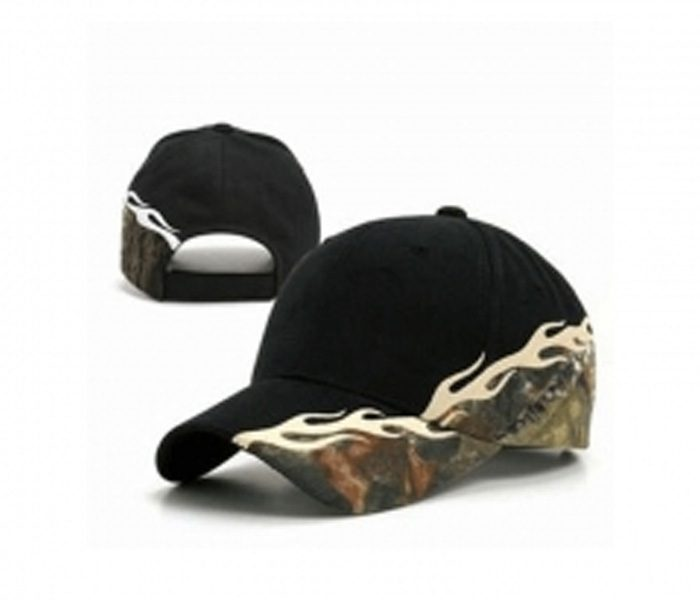 Black Cap with Designer Print in UK and Australia