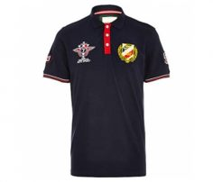 Black Emblem Polo t shirt in UK and Australia