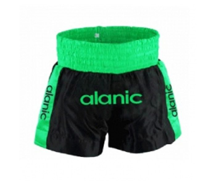 Wholesale Black & Green Boxing Shorts in USA