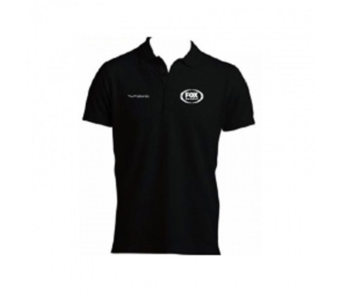 Black Logo Polo Tee in UK and Australia