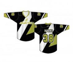 Black & Olive Ice Hockey T Shirt in UK and Australia