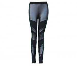 Black & Steel Grey Bandage Leggings in UK and Australia