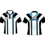 Black Striped Cricket T-shirts in UK and Australia