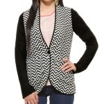Black & White Casual Coat in UK and Australia