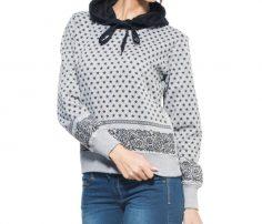 Black & White Hooded Sweater in UK and Australia