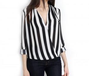 Black & White Shirt Top in UK and Australia