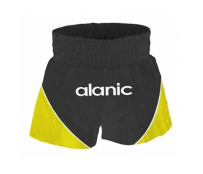Black & Yellow Boxing Shorts in UK and Australia