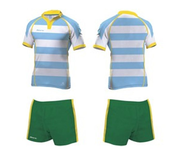 Blue and Green Rugby Set in UK and Australia