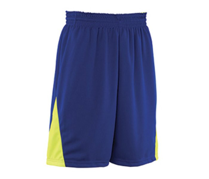 Blue and Yellow Basketball Shorts in UK and Australia