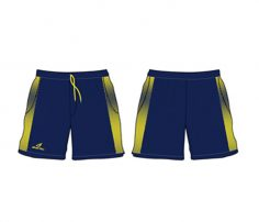 Blue and Yellow Shaded Shorts in UK and Australia