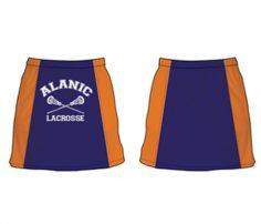 Blue Blocked Orange Skirt in UK and Australia