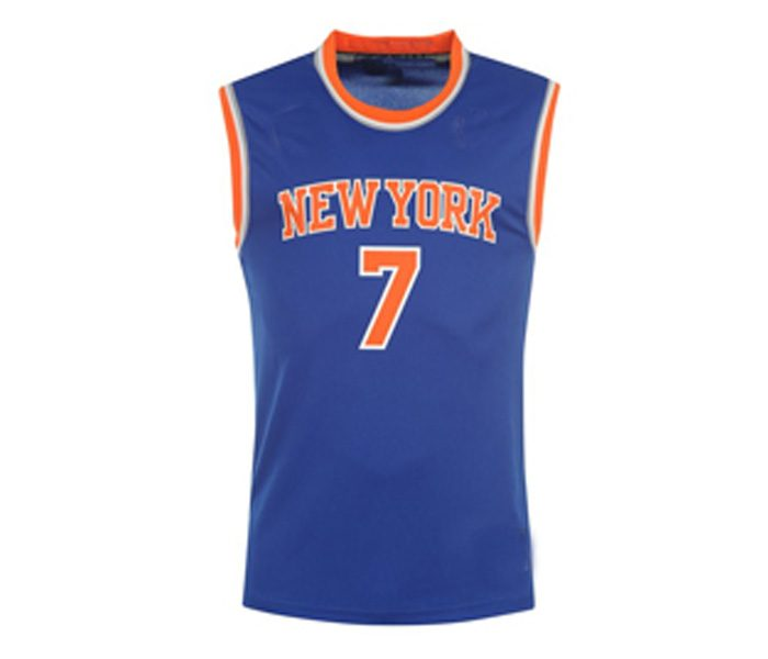 Wholesale Blue Casual Basketball Singlet in USA