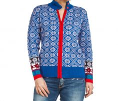 Blue Floral Cardigan in UK and Australia
