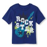 Blue Rock Star Printed T Shirt in UK and Australia