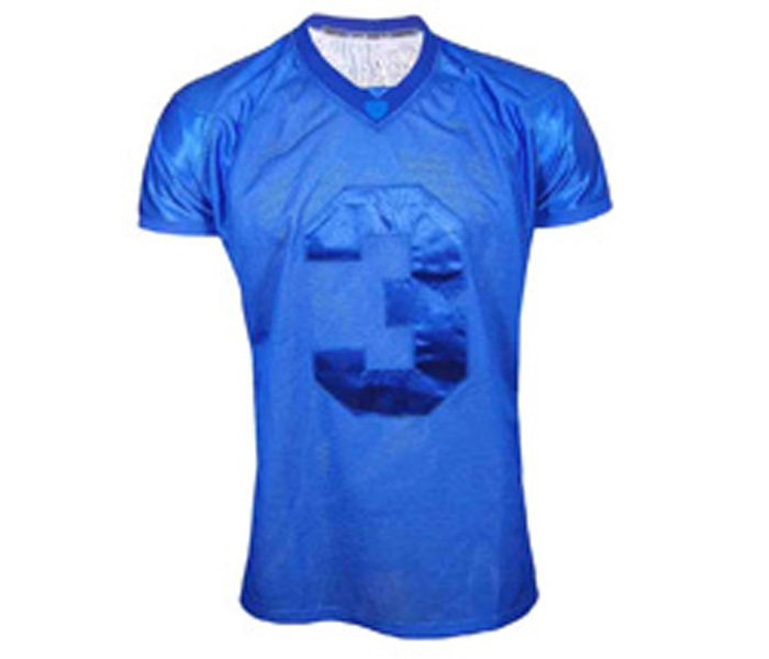 Blue Silk American Football Jersey in UK and Australia