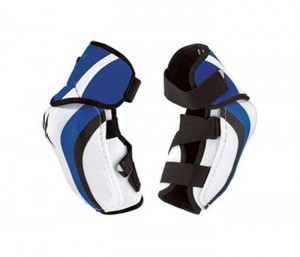 Blue & White Ice Hockey Elbow Pad in UK and Australia