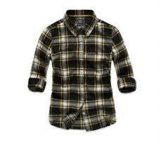 Blue, White with Yellow Check Shirt in UK and Australia