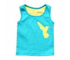 Blue-Yellow Sleeveless Vest in UK and Australia