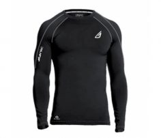 Bold Black Compression Tee in UK and Australia