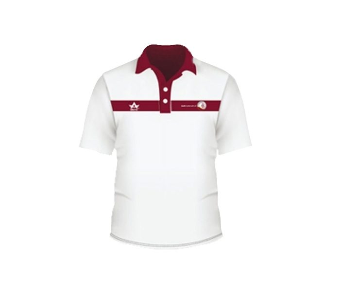 Bold Red & White Golf T Shirt in UK and Australia