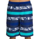 Breezy Blue Layered Flower Beach Shorts in UK and Australia