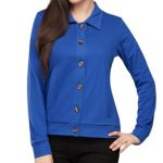 Bright Blue Collard Cardigan in UK and Australia