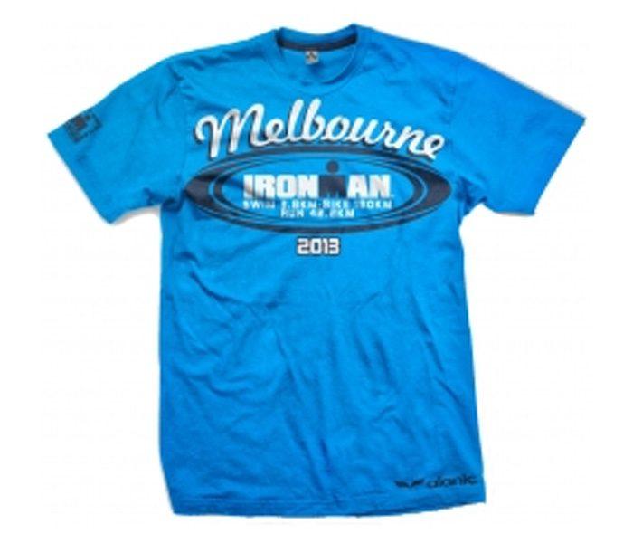 Bright Blue Marathon Tee in UK and Australia