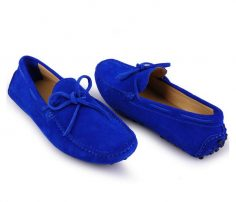 Bright Blue Men's Loafers in UK and Australia
