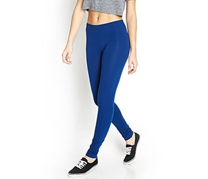 Bright Navy Blue Leggings in UK and Australia