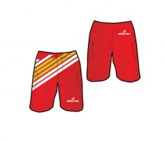 Bright Red Beach Shorts For Men in UK and Australia