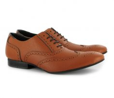 Brown Bordered Brogue Shoes in UK and Australia