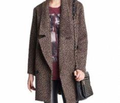 Brown Cocoon Coat in UK and Australia