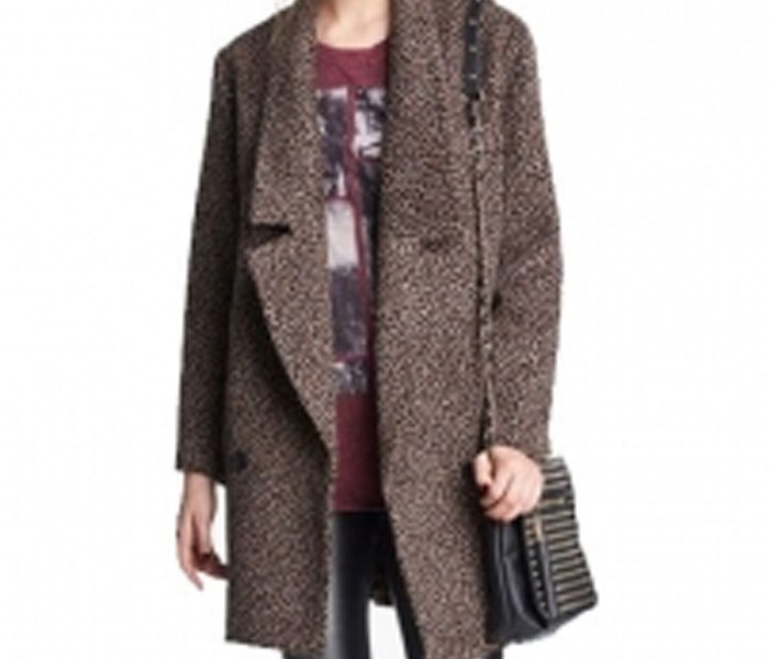Brown Cocoon Coat in UK and Australia