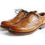Brown Cutwork Brogue Shoes in UK and Australia