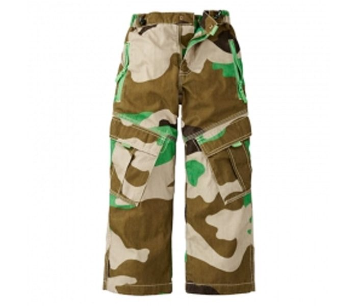 Camouflage Six Pocket Cargo Pants in UK and Australia