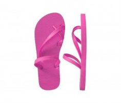 Candy Pink Flip Flops in UK and Australia