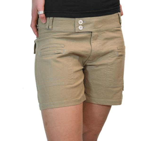 Casual Deep Beige Shorts in UK and Australia